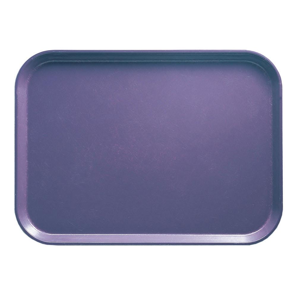 """Cambro 1014551 Fiberglass Camtray® Cafeteria Tray - 13.75""""L x 10.6""""W, Grape"""