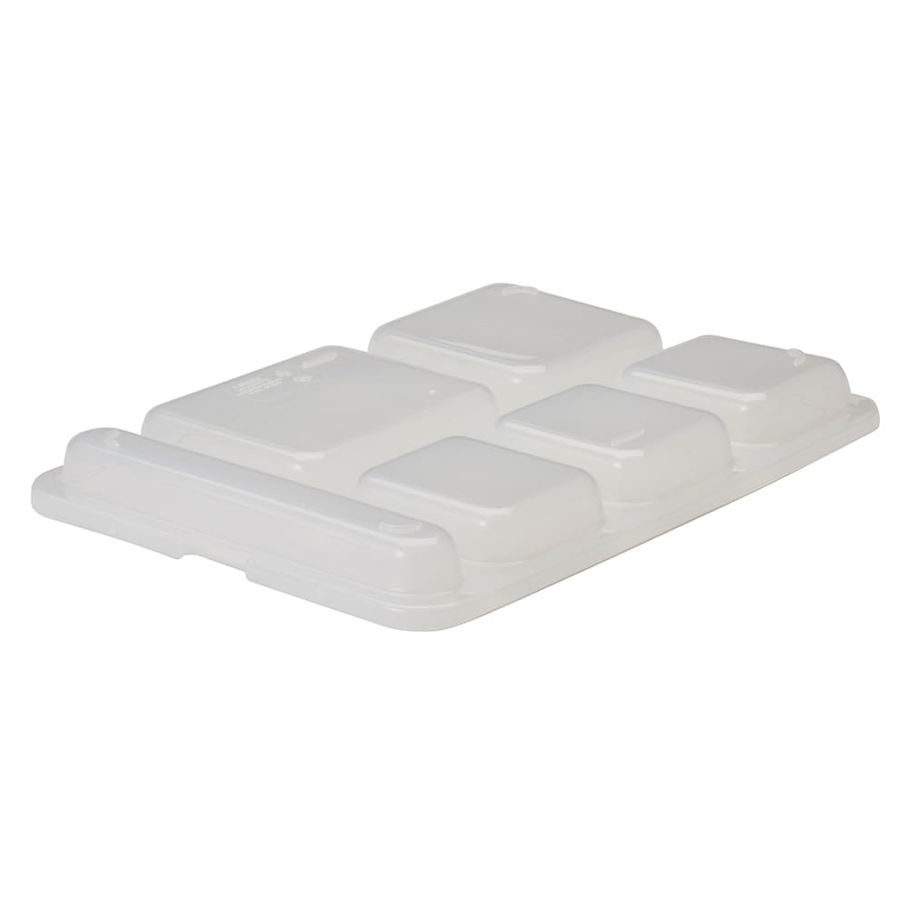 "Cambro 10146DCPC190 Separator Tray Lid - 10x14-5/32"" Translucent"