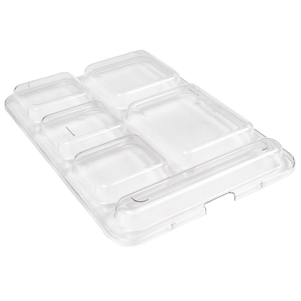 """Cambro 10146DCWC135 Separator Tray Lid - 10x14 5/32"""" Clear"""