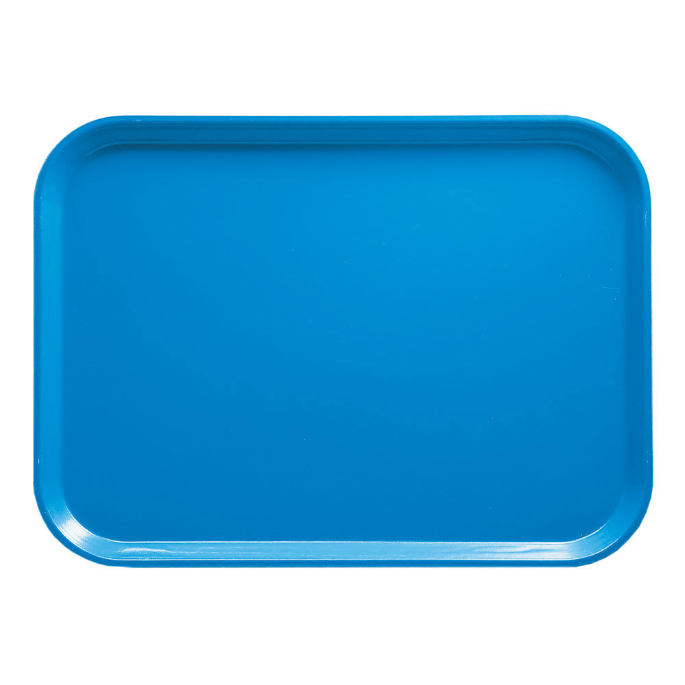 "Cambro 1015105 Rectangular Camtray Insert - 10 1/8x15"" Horizon Blue"