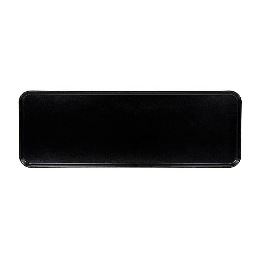 "Cambro 1030MT110 Rectangular Market Display Tray - 10-7/16x30x3/4"" Black"
