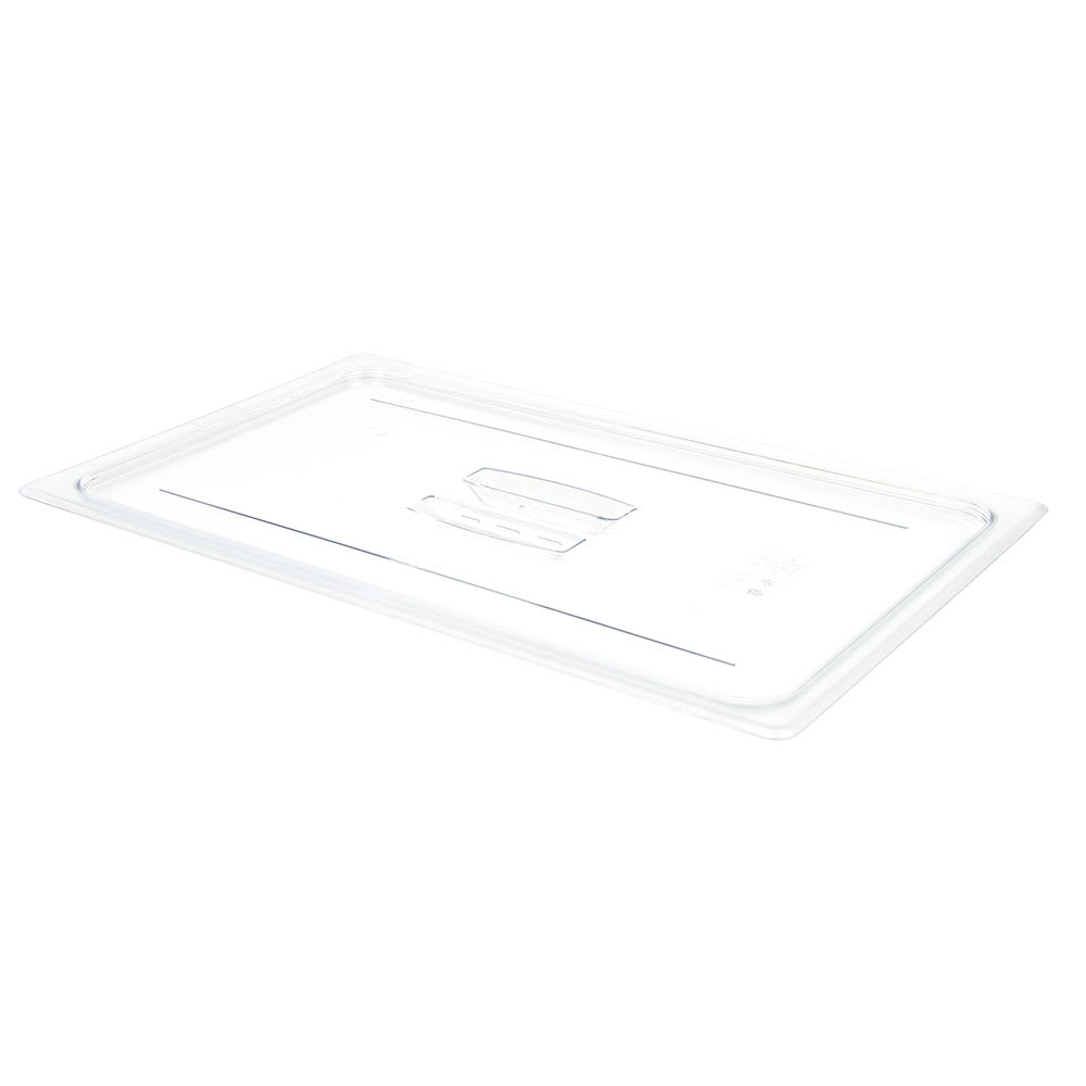 Cambro 10CWCH135 Camwear® Full Size Food Pan Cover w/ Handle, Polycarbonate, Clear