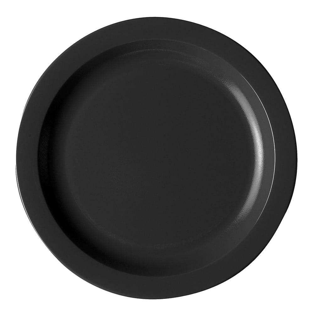"Cambro 10CWNR110 10"" Camwear Plate - Black"