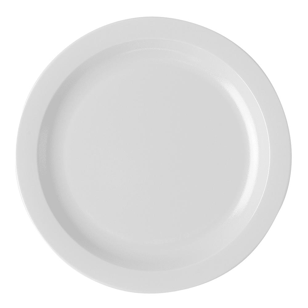 "Cambro 10CWNR148 10"" Camwear Plate - White"