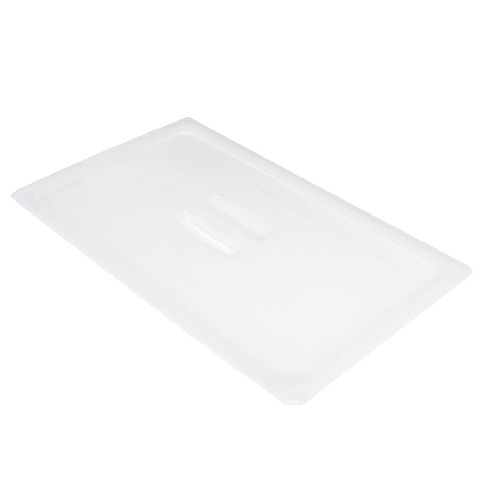 Cambro 10PPCH190 Food Pan Cover with Handle - Full-Size, Translucent