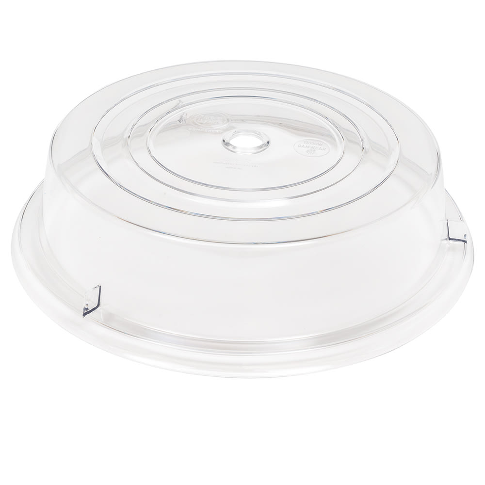 "Cambro 1101CW152 11"" Camwear Plate Cover - Clear"