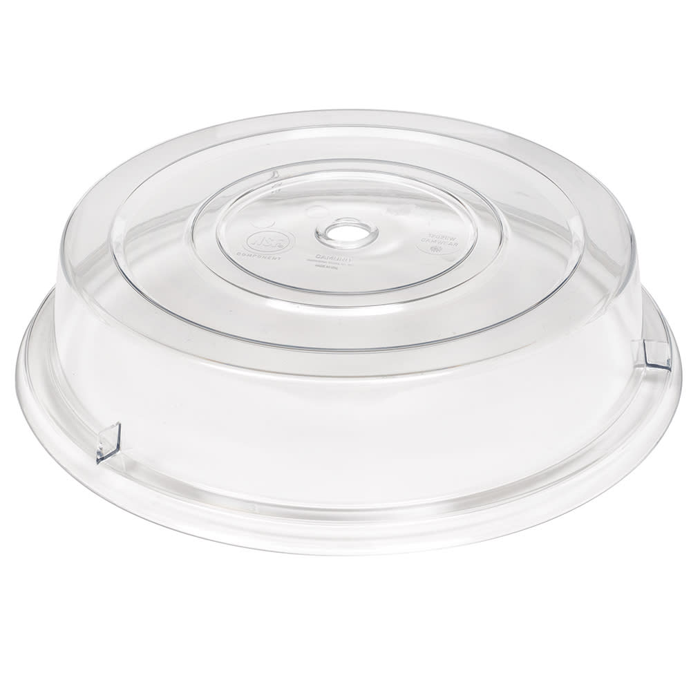"Cambro 1202CW152 12-1/8"" Camwear Plate Cover - Clear"
