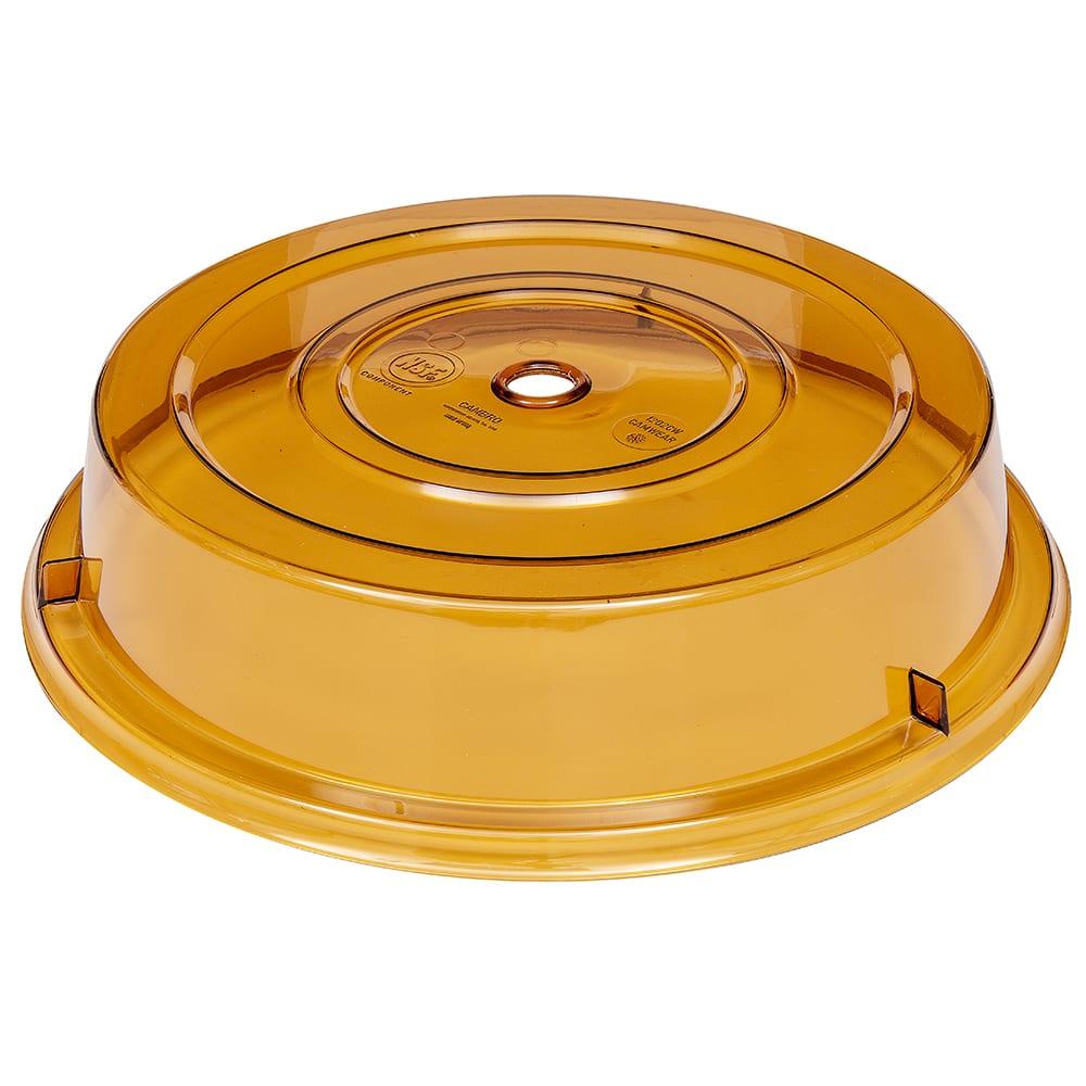 "Cambro 1202CW153 12-1/8"" Camwear Plate Cover - Amber"
