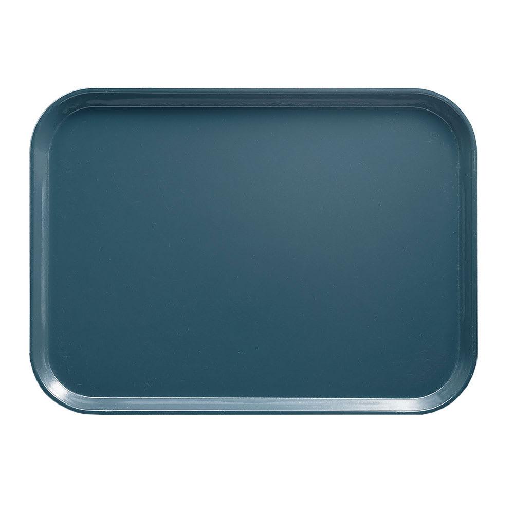 "Cambro 1216401 Rectangular Camtray - 12x17"" Slate Blue"