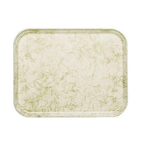 "Cambro 1216526 Fiberglass Camtray® Cafeteria Tray - 16.3""L x 12""W, Galaxy Antique Parchment Gold"