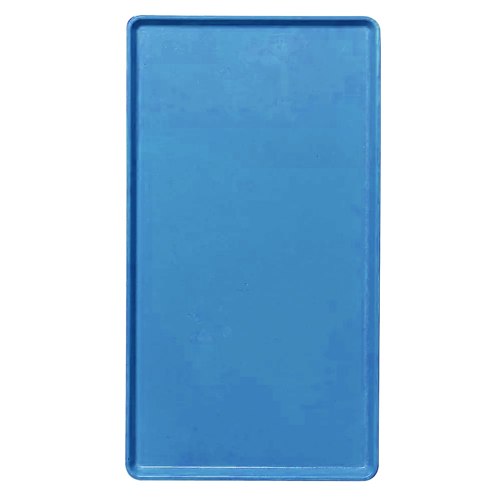 "Cambro 1216D105 Rectangular Dietary Tray - For Patient Feeding, 12x16"" Horizon Blue"