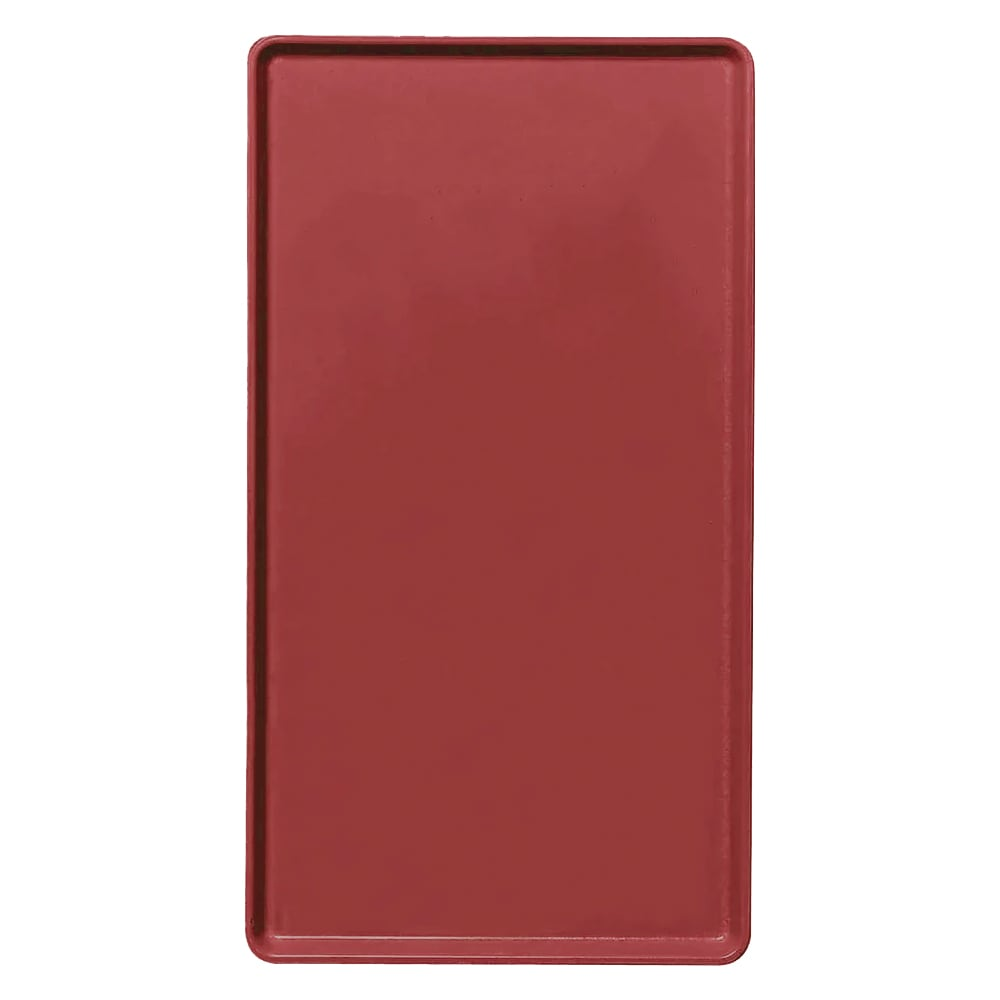 "Cambro 1216D505 Rectangular Dietary Tray - For Patient Feeding, 12x16"" Cherry Red"