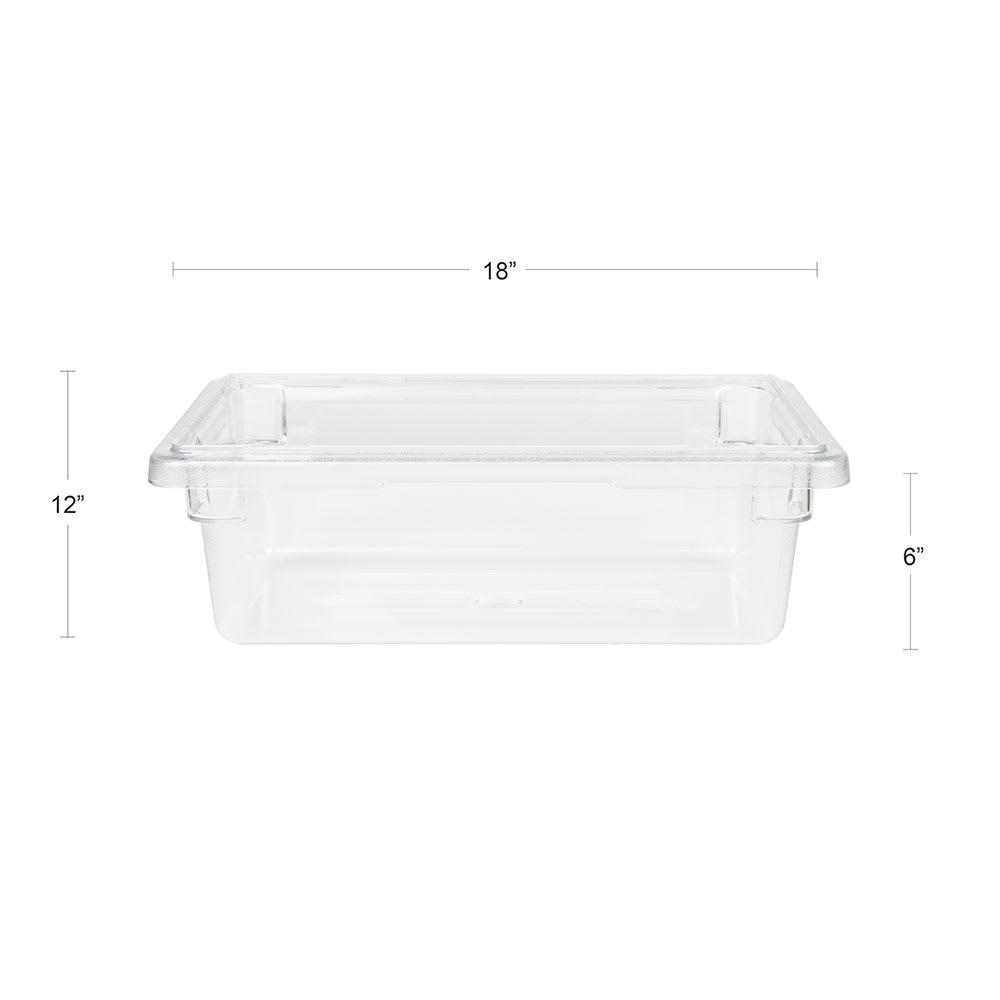 Cambro 12186CW135 3 gal Camwear Food Storage Container - Clear