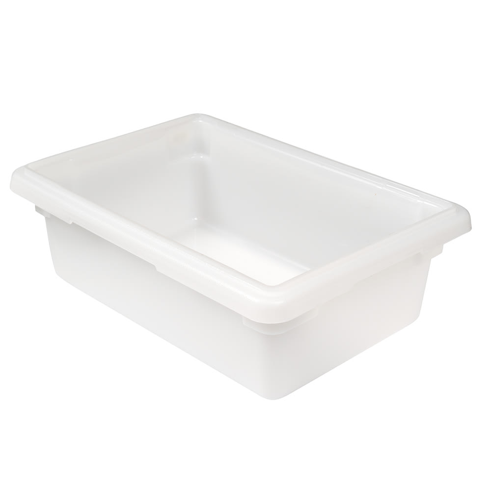 Cambro 12186P148 3 gal Camwear Food Storage Container Natural White