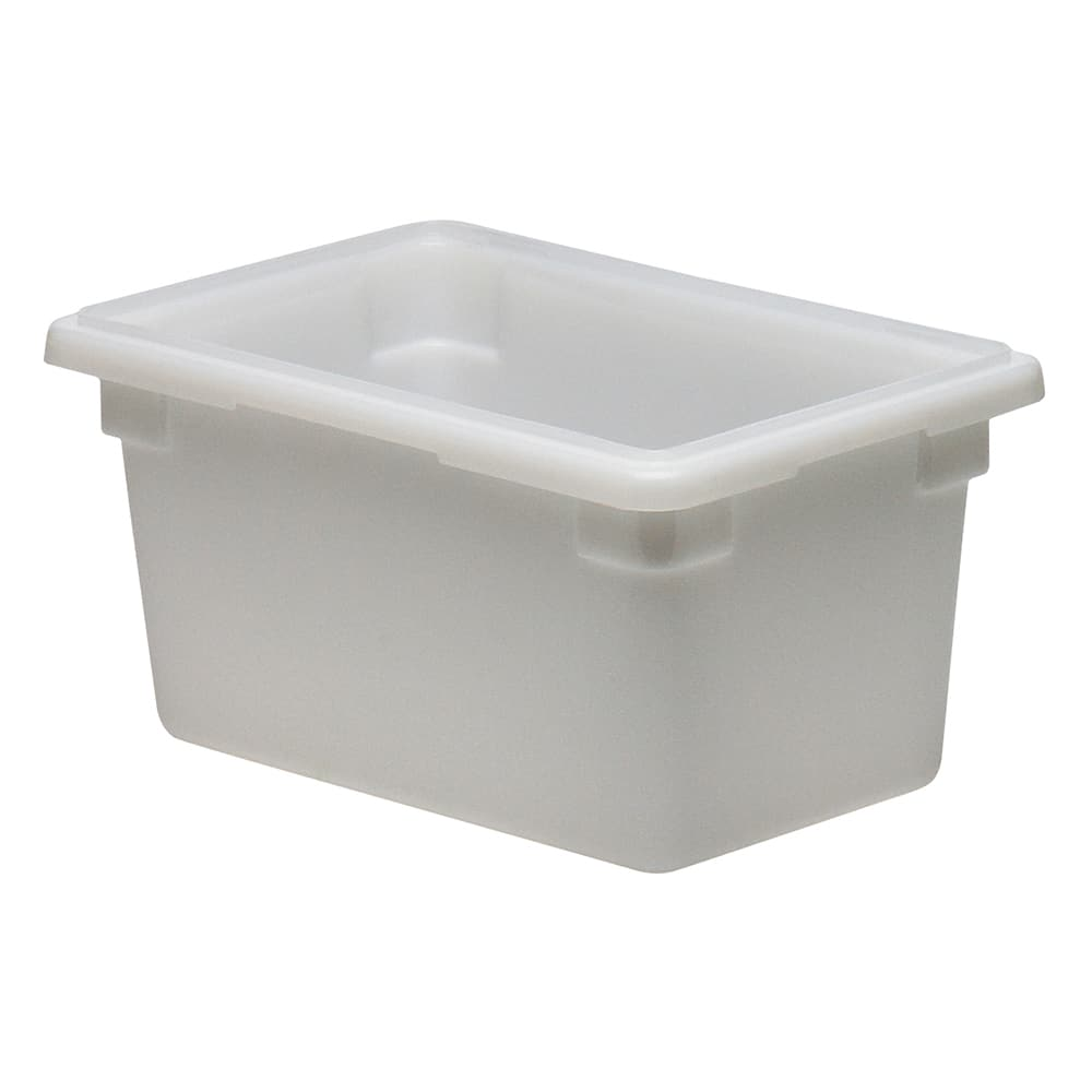 Cambro 12189P148 4.75 gal Camwear Food Storage Container - Natural White