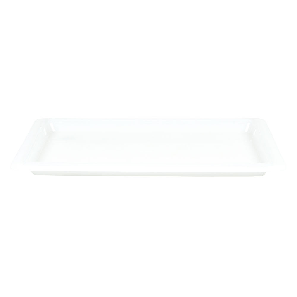 """Cambro 1218CP148 Camwear Food Storage Cover - Flat, 12x18"""" Natural White"""