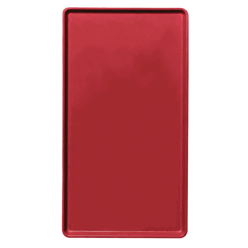 """Cambro 1219D521 Rectangular Dietary Tray - For Patient Feeding, 12x19"""" Cambro Red"""