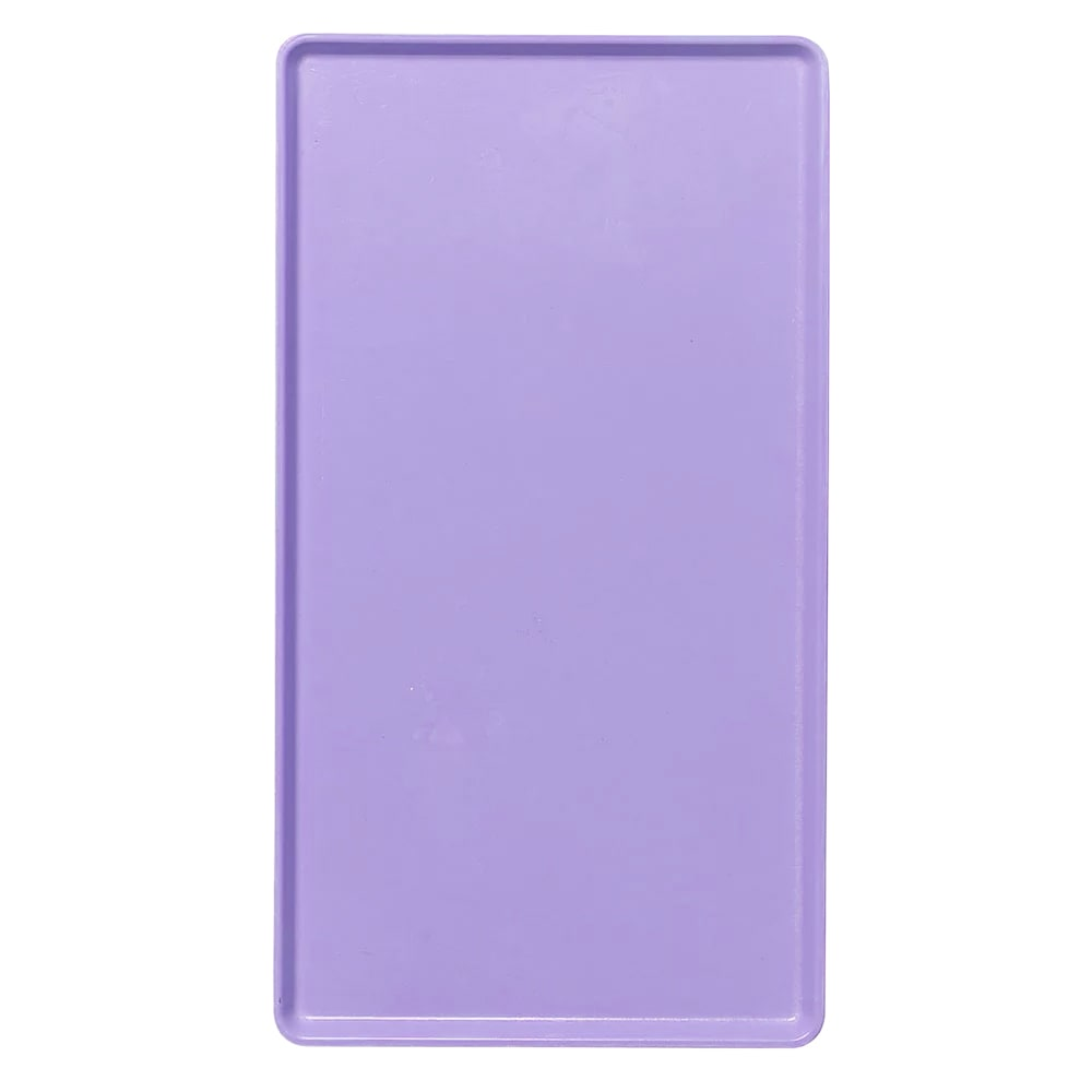 """Cambro 1219D551 Rectangular Dietary Tray - For Patient Feeding, 12x19"""" Grape"""