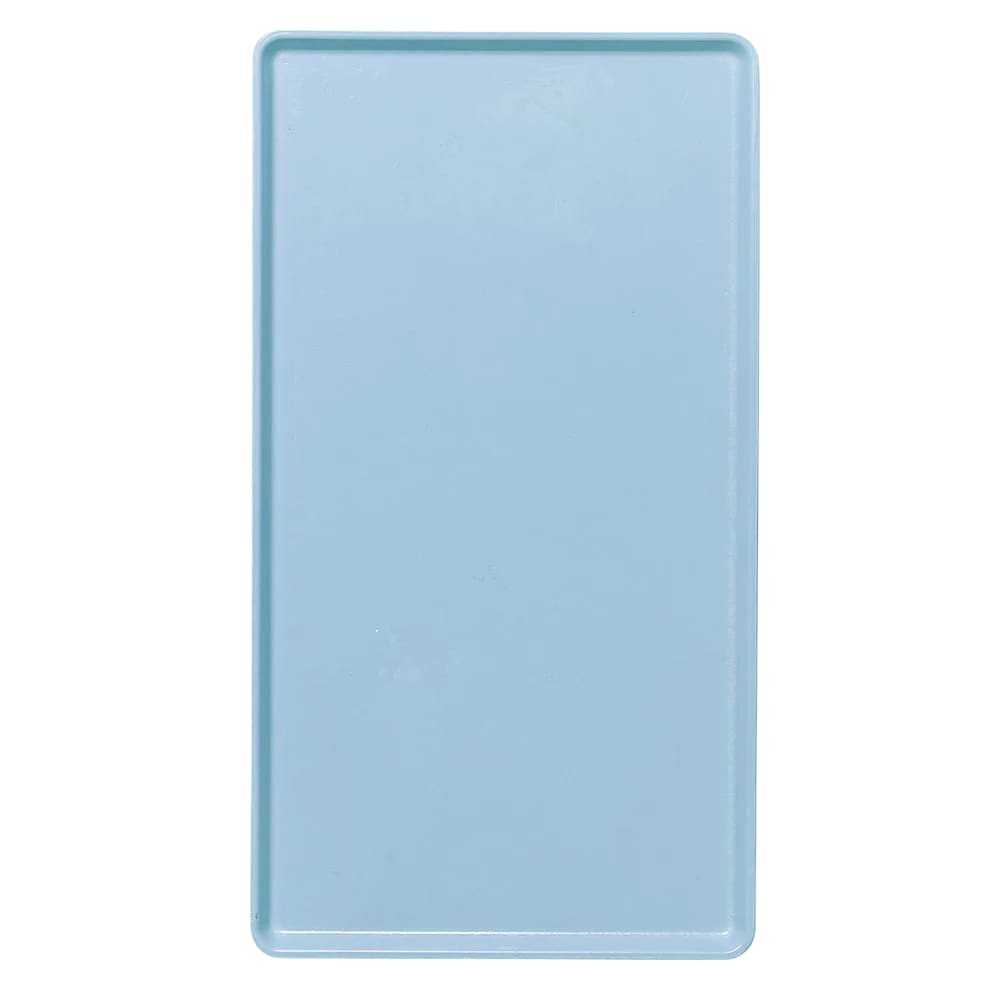 """Cambro 1220D518 Rectangular Dietary Tray - For Patient Feeding, 12x20"""" Robin Egg Blue"""