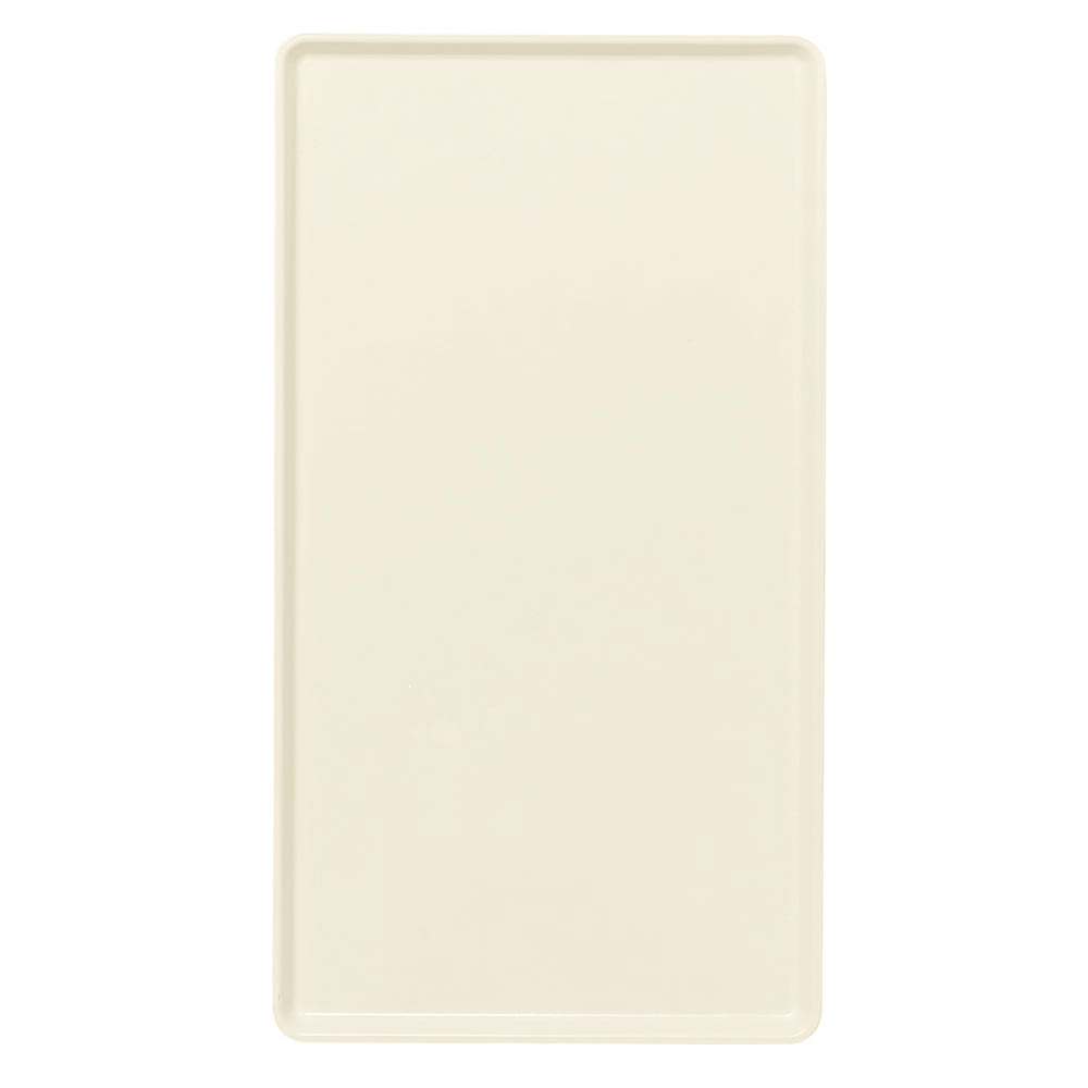 """Cambro 1220D538 Rectangular Dietary Tray - For Patient Feeding, 12x20"""" Cottage White"""