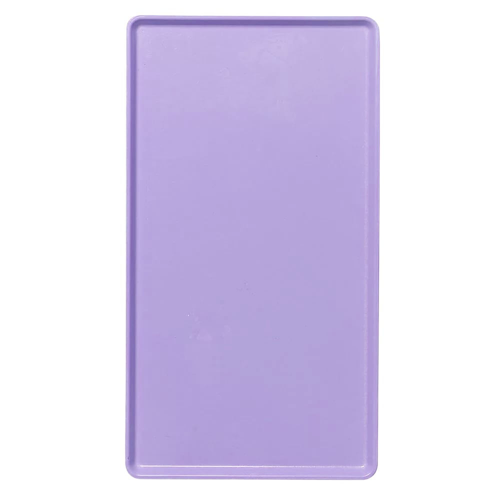 """Cambro 1220D551 Rectangular Dietary Tray - For Patient Feeding, 12x20"""" Grape"""