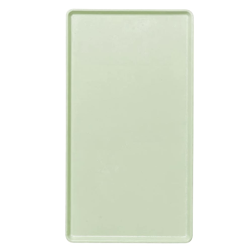"Cambro 1222D429 Rectangular Dietary Tray - For Patient Feeding, 12x22"" Key Lime"