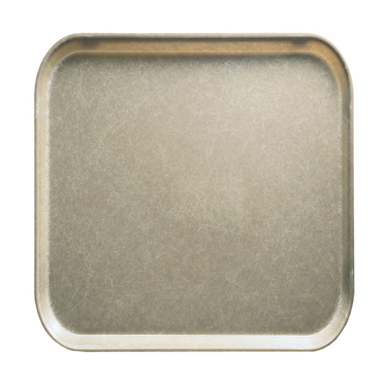 Cambro 1313104 33cm Square Serving Camtray - Desert Tan