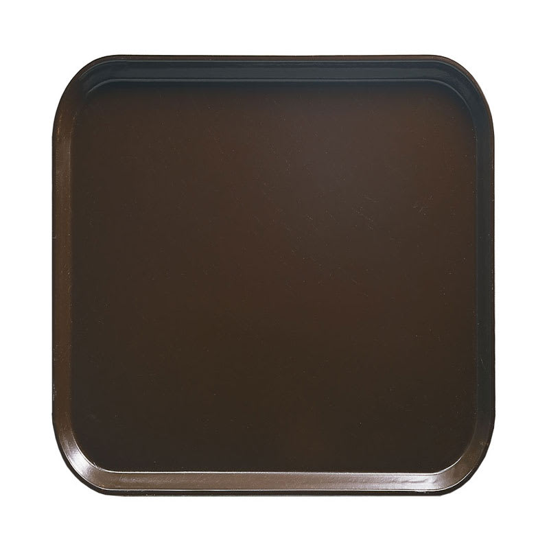 Cambro 1313116 33cm Square Serving Camtray - Brazil Brown