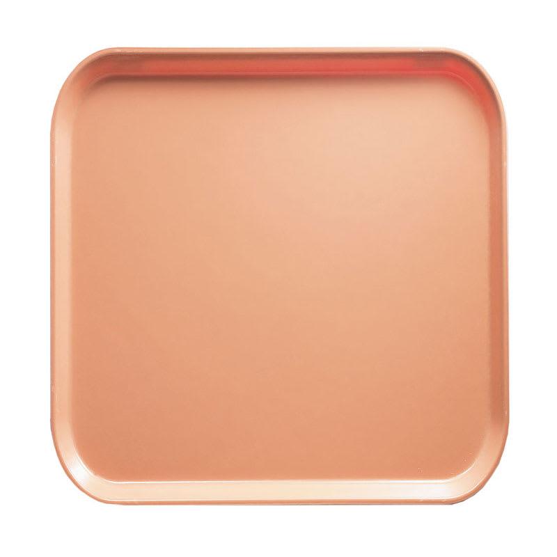 Cambro 1313117 33cm Square Serving Camtray - Dark Peach