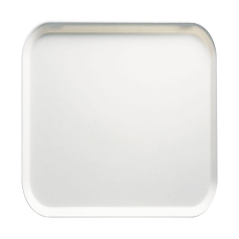 Cambro 1313148 33cm Square Serving Camtray - White