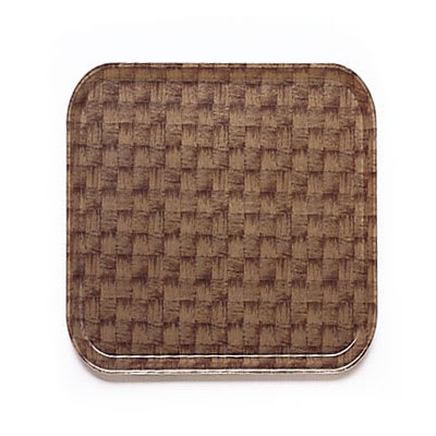 Cambro 1313301 33cm Square Serving Camtray - Dark Basket Weave