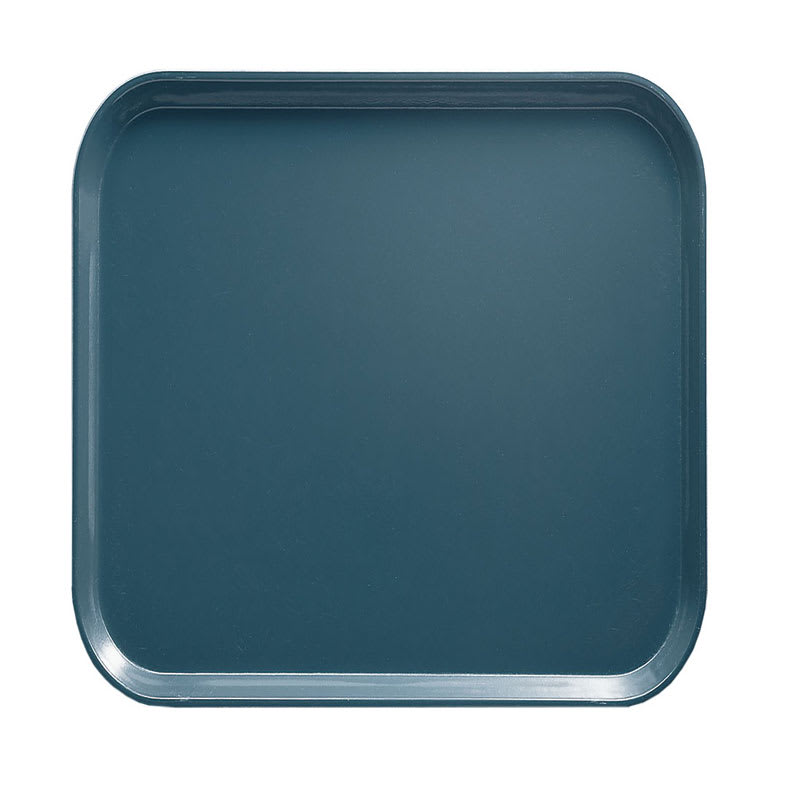 Cambro 1313401 33cm Square Serving Camtray - Slate Blue