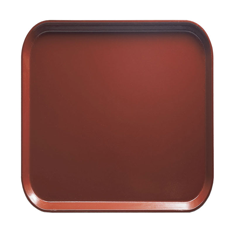 Cambro 1313501 33cm Square Serving Camtray - Real Rust