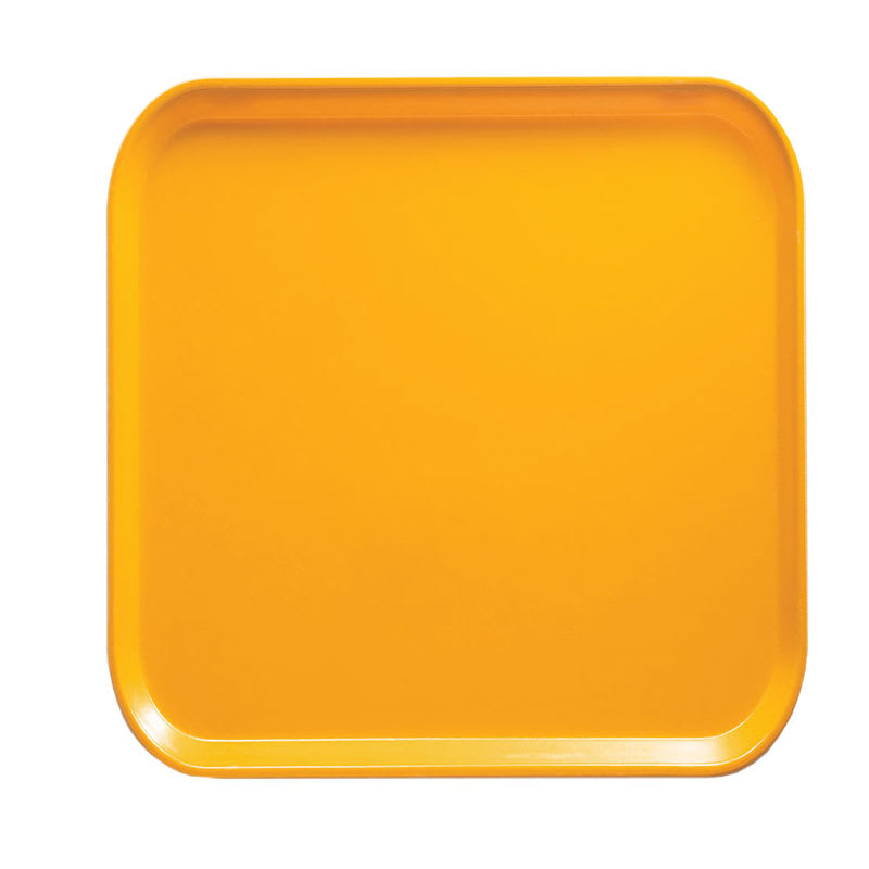 Cambro 1313504 33cm Square Serving Camtray - Mustard
