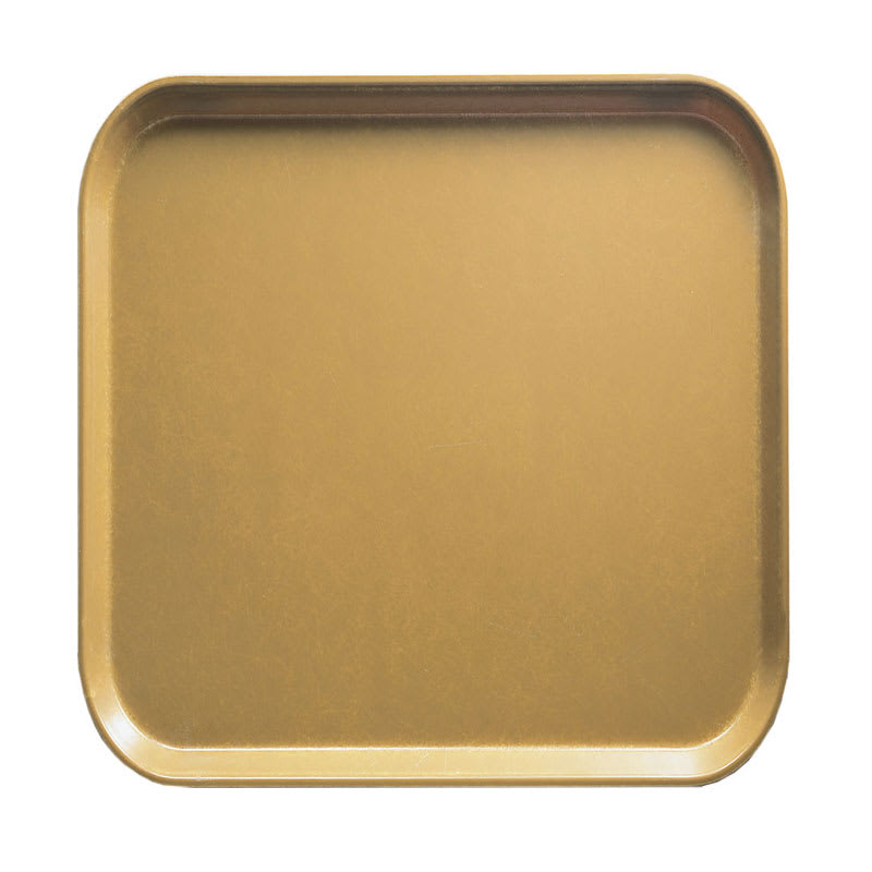 Cambro 1313514 33cm Square Serving Camtray - Earthen Gold
