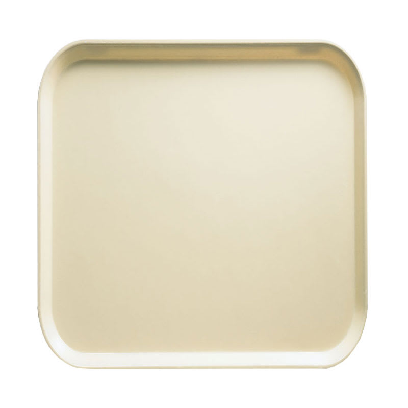 Cambro 1313537 33cm Square Serving Camtray - Cameo Yellow