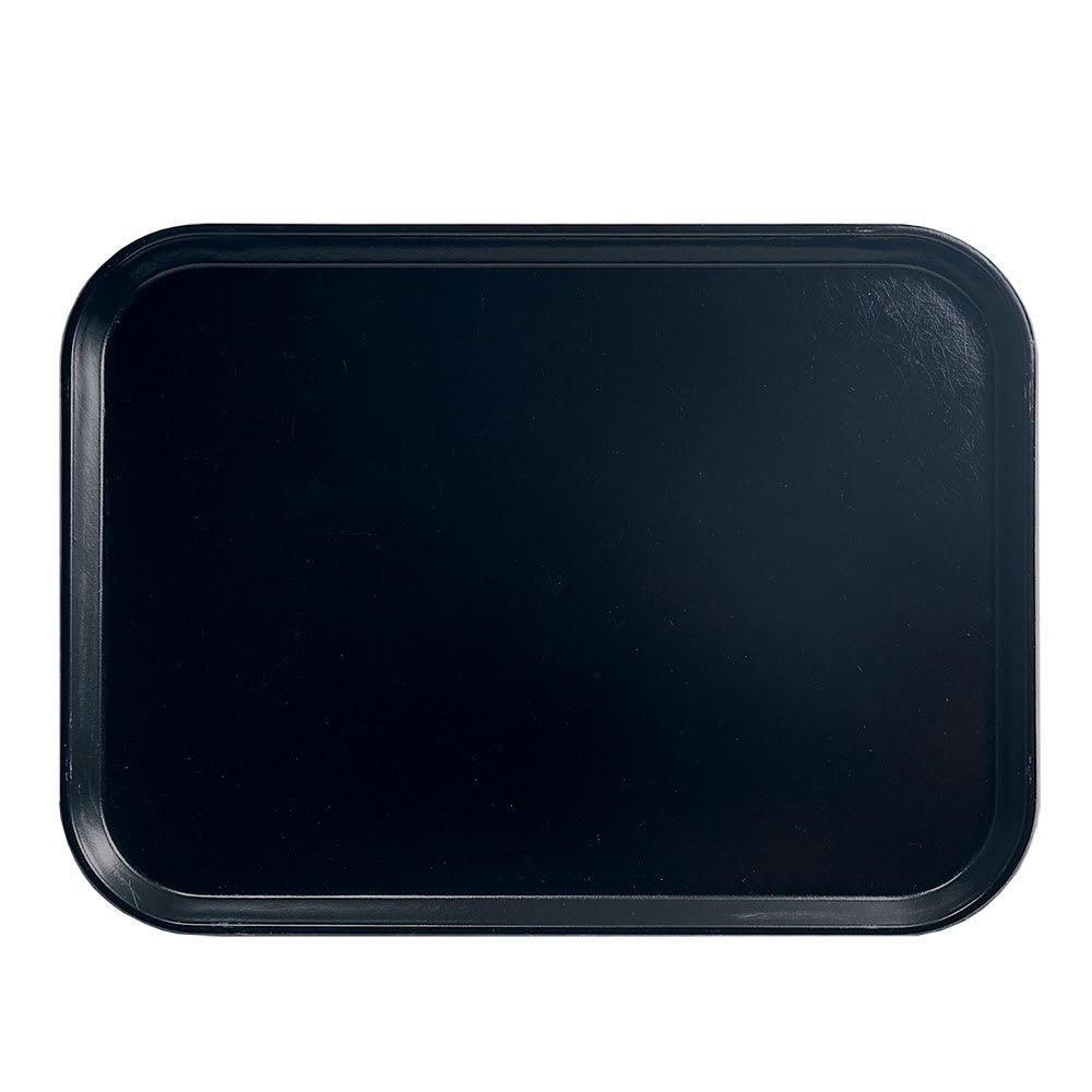"Cambro 1318110 Rectangular Camtray - 12-5/8x17-3/4"" Black"