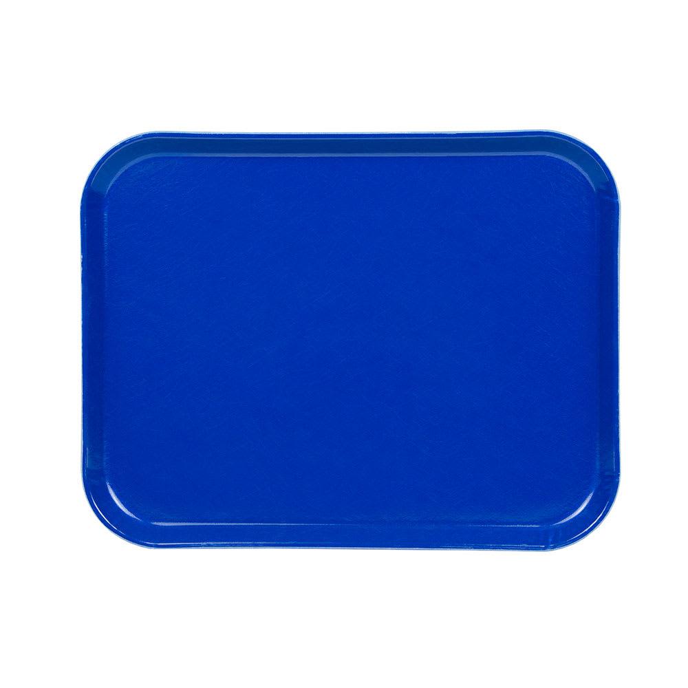 """Cambro 1418123 Rectangular Camtray - 14x18"""" Amazon Blue"""