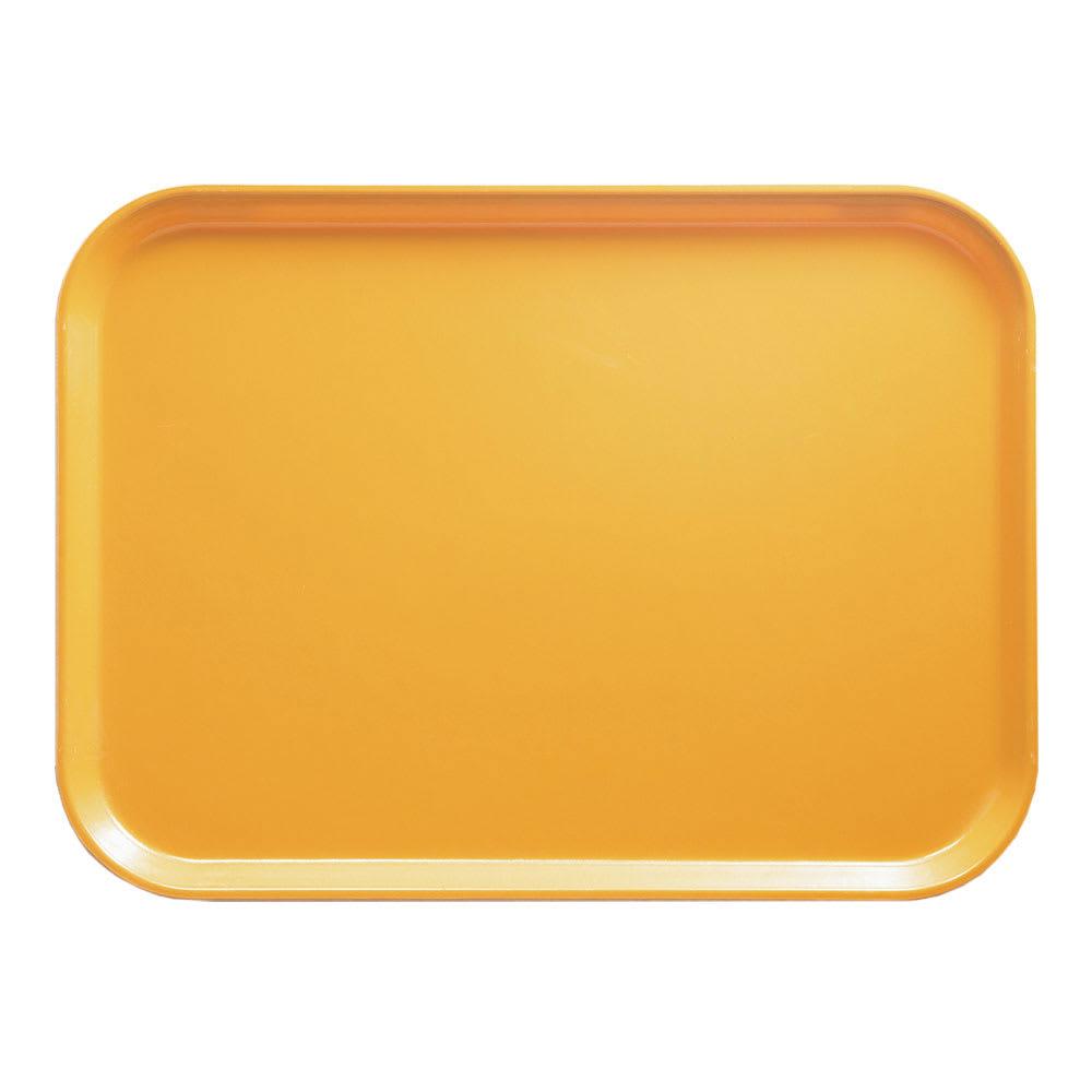 """Cambro 1418171 Rectangular Camtray - 14x18"""" Tuscan Gold"""