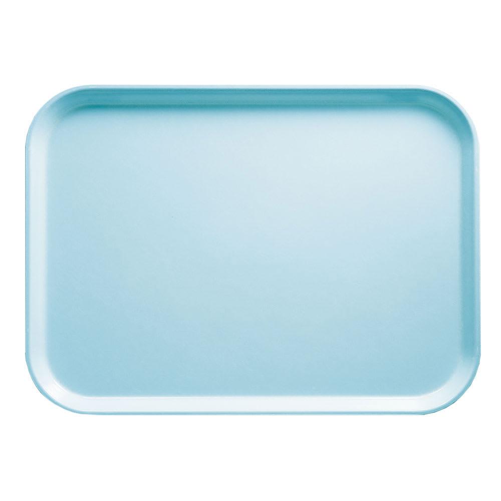 """Cambro 1418177 Rectangular Camtray - 14x18"""" Sky Blue"""