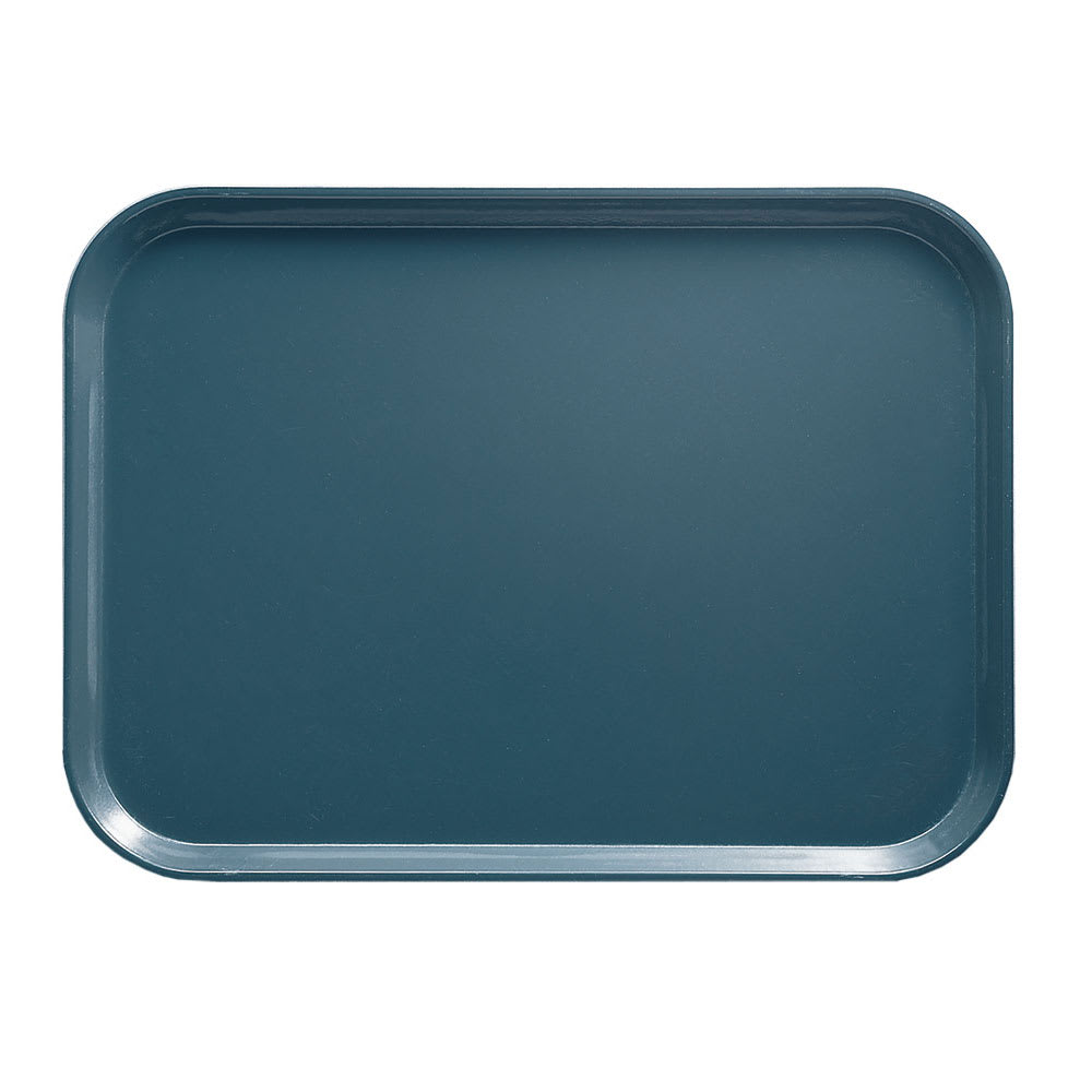 "Cambro 1418401 Rectangular Camtray - 14x18"" Slate Blue"