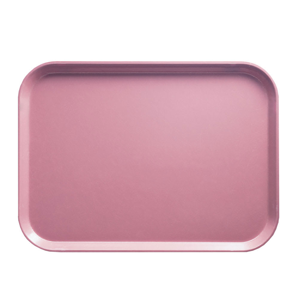 "Cambro 1418409 Rectangular Camtray - 14x18"" Blush"