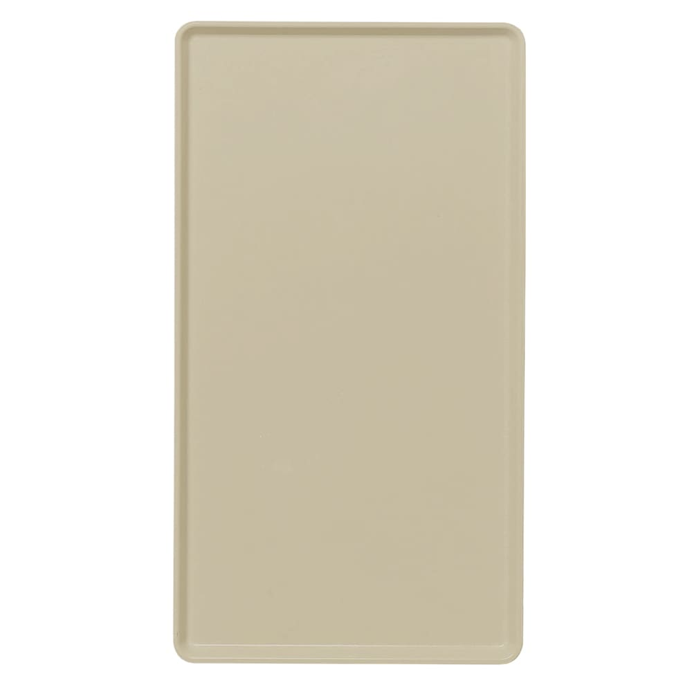 "Cambro 1418D104 Rectangular Dietary Tray - For Patient Feeding, 14x18"" Desert Tan"