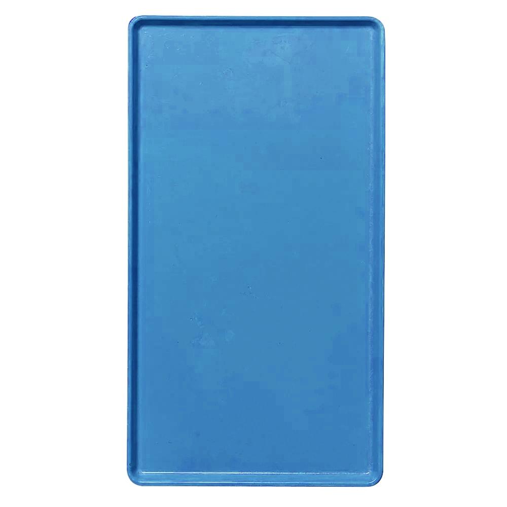 "Cambro 1418D105 Rectangular Dietary Tray - For Patient Feeding, 14x18"" Horizon Blue"