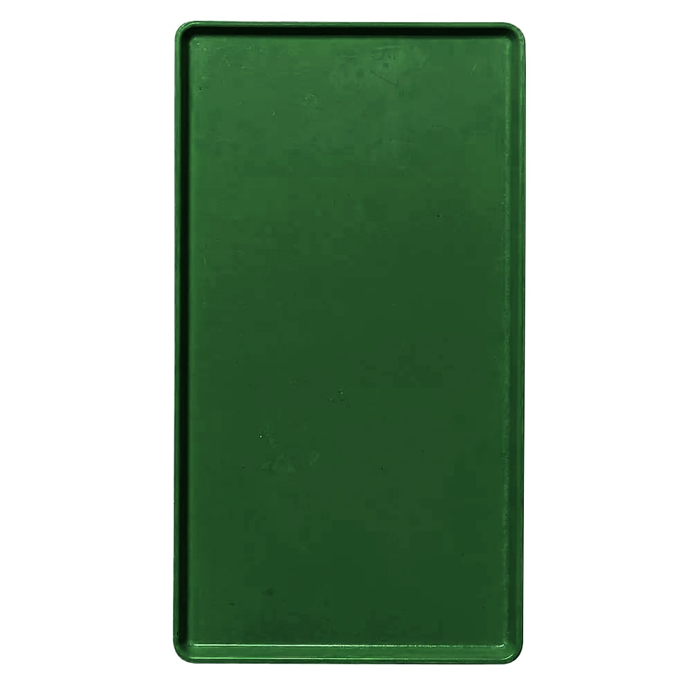"Cambro 1418D119 Rectangular Dietary Tray - For Patient Feeding, 14x18"" Sherwood Green"