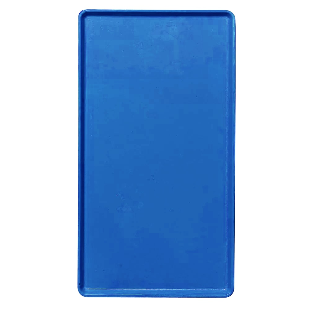 "Cambro 1418D123 Rectangular Dietary Tray - For Patient Feeding, 14x18"" Amazon Blue"