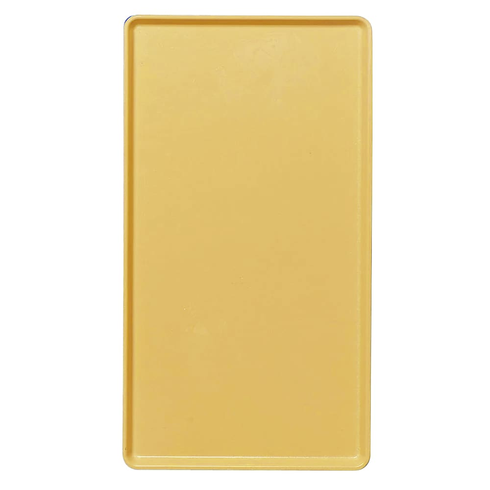 """Cambro 1418D171 Rectangular Dietary Tray - For Patient Feeding, 14x18"""" Tuscan Gold"""