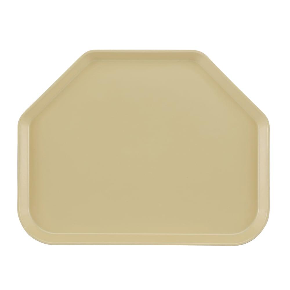"Cambro 1418TR537 Trapezoid Camtray - 14x18"" Cameo Yellow"