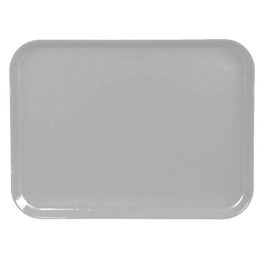 "Cambro 1520CL676 Rectangular Camlite Tray - 15x20 1/4"" Steel White"