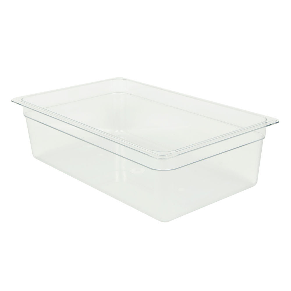 Cambro 16CW135 Camwear® Full Size Food Pan w/ 20.6 qt Capacity, Polycarbonate, Clear